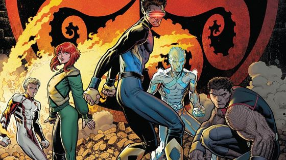 'X-Men Blue Vol. 2: Toil and Trouble' review: plenty of fighting, character dynamics and 'Jean loves Scott' storytelling
