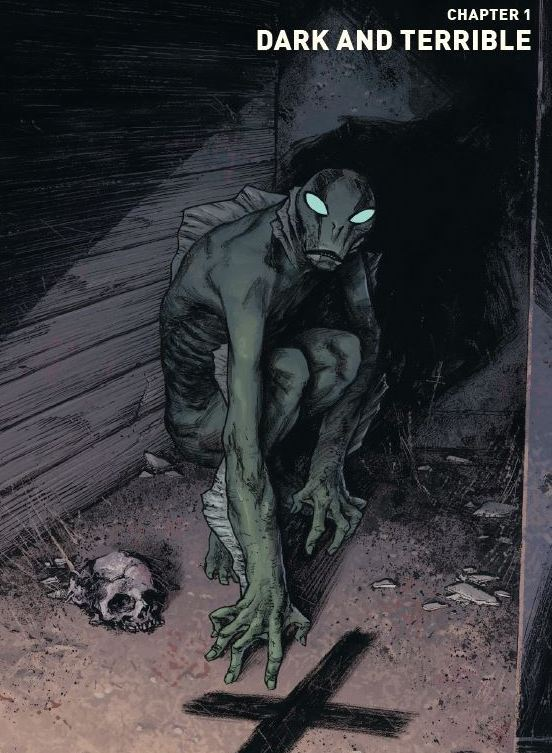 'Abe Sapien: Dark and Terrible Vol. 1' is a great collection of post-apocalyptic character-focused stories