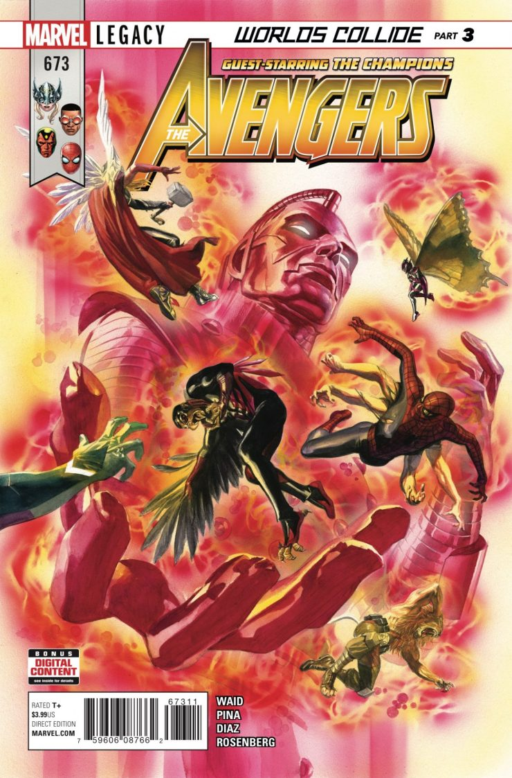 Marvel Preview: Avengers #673
