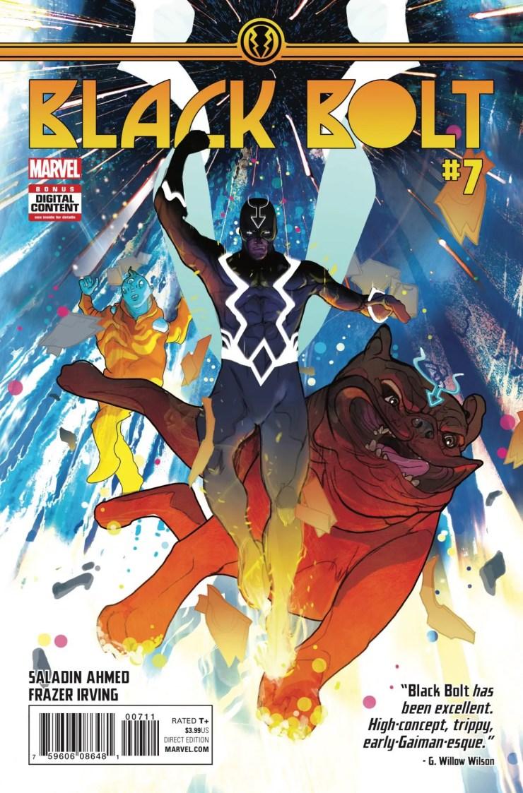 Marvel Preview: Black Bolt #7