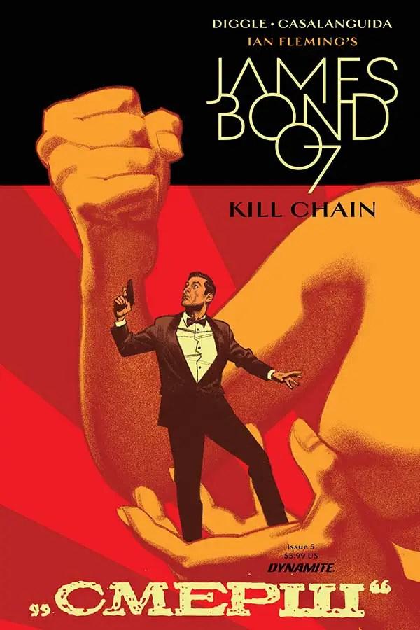James Bond: Kill Chain #5 Review