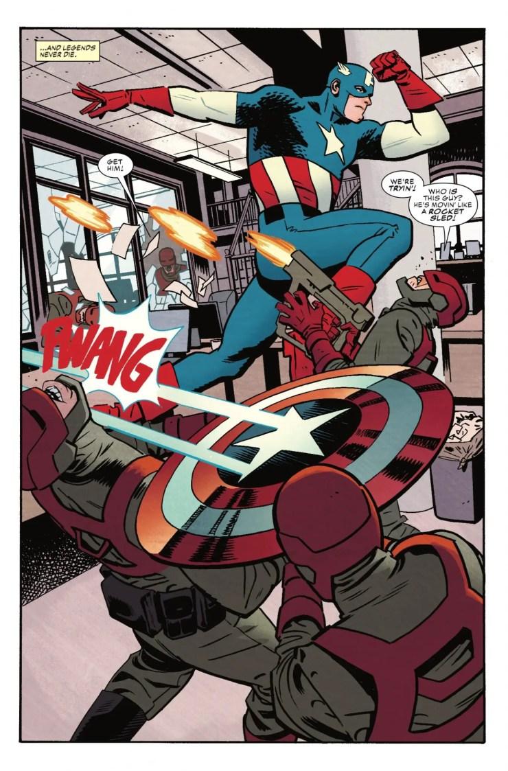 Marvel Preview: Captain America #695