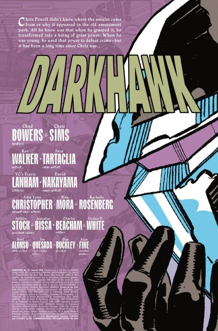 Marvel Preview: Darkhawk #51