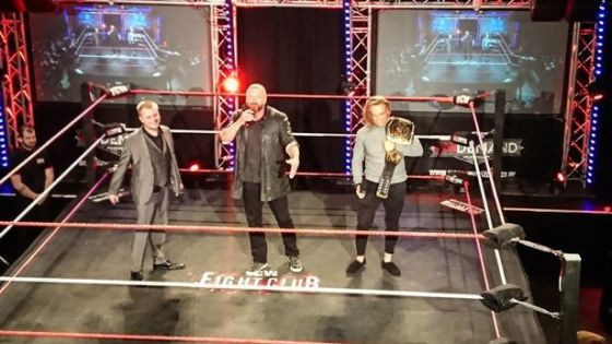 Triple H Shows Up at ICW Show - What's next?