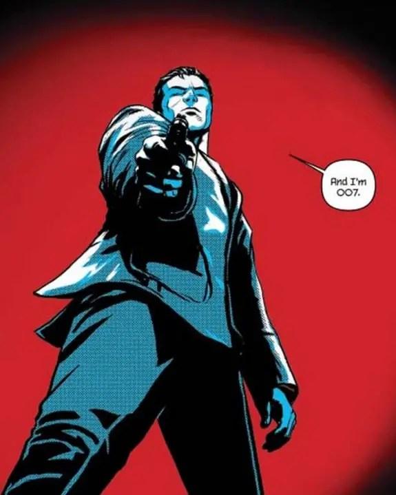 'James Bond Vol. 1: VARGR' isn't your father's Bond