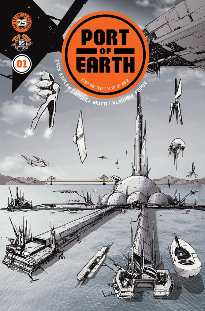 Let's make a deal... with aliens: Zack Kaplan and Andrea Mutti discuss 'Port of Earth'