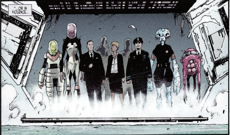 Port of Earth #1 Review