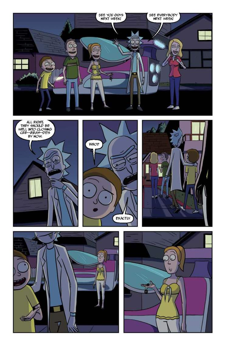 Rick and Morty #32 Review