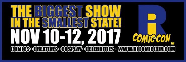 Rhode Island Comic Con 2017 is less than a week away