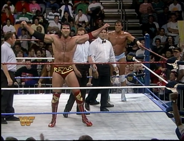 Razor Ramon and Rick Martel win the Battle Royal