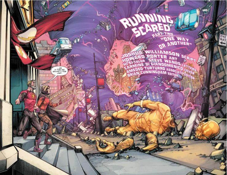 'The Flash Vol 4: Running Scared' review: The best Flash story in ages