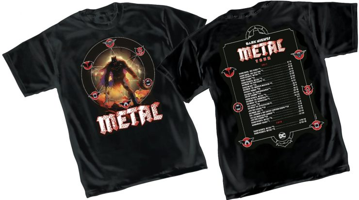 Headbang to this - 'Dark Nights: Metal' soundtrack first listen
