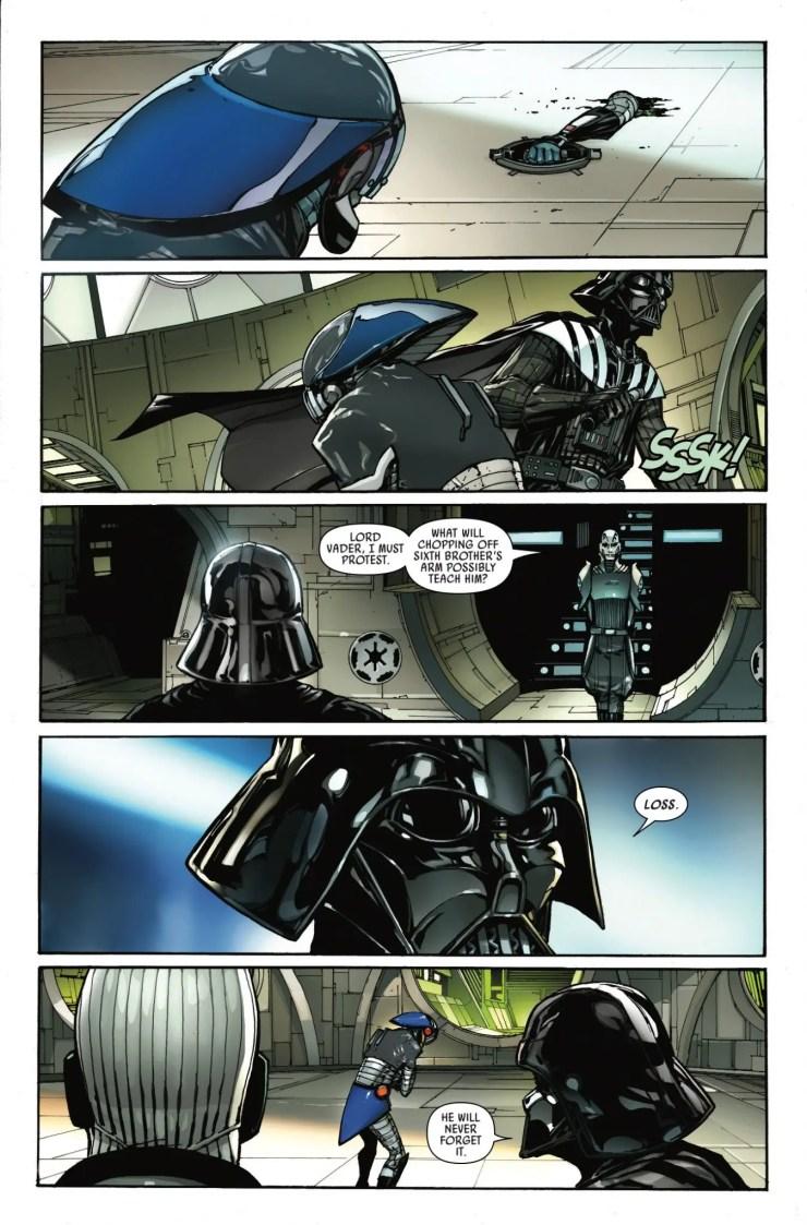 Marvel Preview: Darth Vader #7
