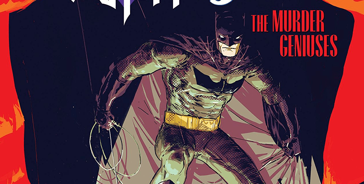 'Batman/The Shadow: The Murder Geniuses' embraces the pulp origins of both characters