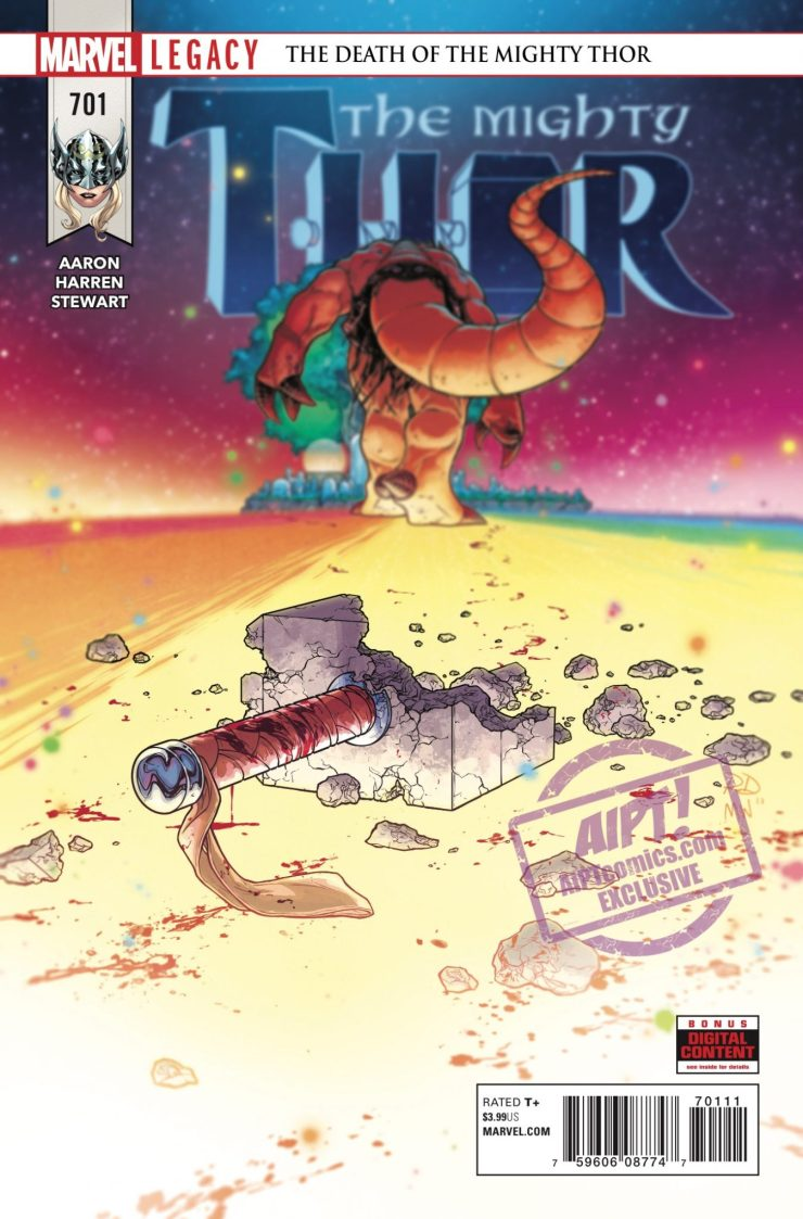 [EXCLUSIVE] Marvel Preview: The Mighty Thor #701