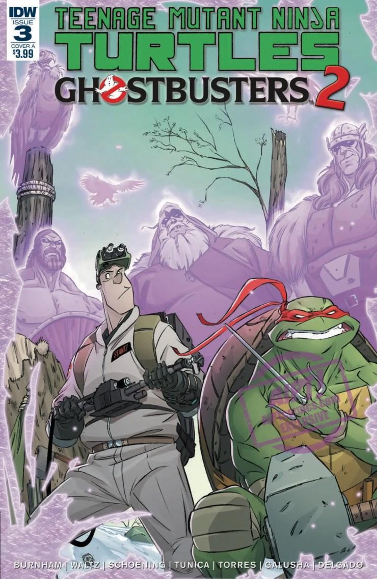 [EXCLUSIVE] IDW Preview: Teenage Mutant Ninja Turtles/Ghostbusters II #3