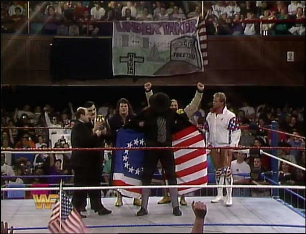 Undertaker Joins The All Americans