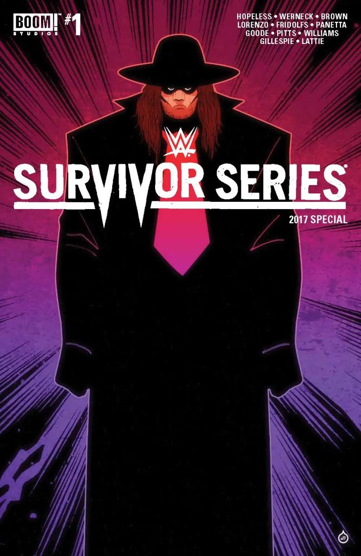 BOOM! Preview: WWE Survivor Series 2017 Special #1