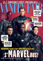 Captain America, Vision, Hawkeye, Wasp and War Machine