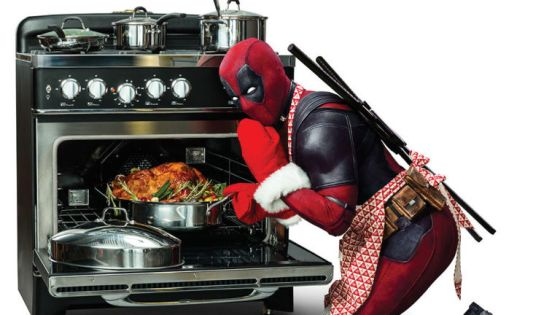 Your look at the first poster released for Deadpool 2.