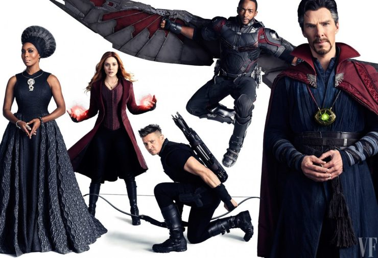 First look 'Avengers: Infinity War' Vanity Fair covers