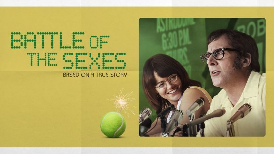 'Battle of the Sexes' has all the parts of a great film, but suffers from an identity crisis of its own.