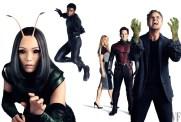 Mantis, Black Panther, Pepper Potts, Ant-Man and Hulk