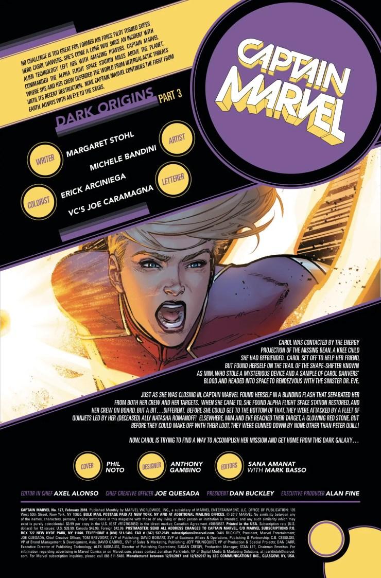 Marvel Preview: Captain Marvel #127