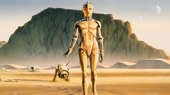 A look into 'Star Wars Art: Ralph McQuarrie'