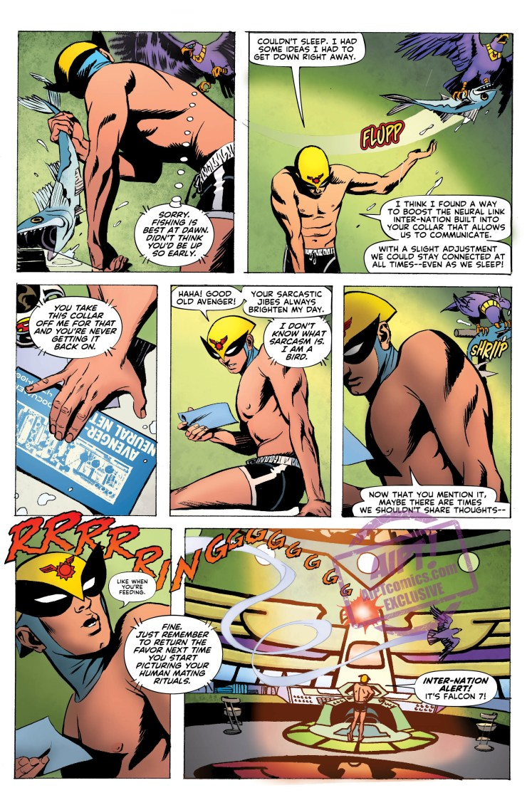 [EXCLUSIVE] DC Preview: Future Quest Presents: Birdman #5