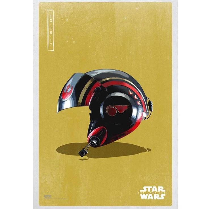 9 new 'Star Wars: The Last Jedi' light side posters released