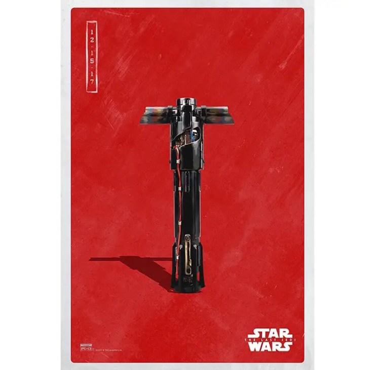 9 new 'Star Wars: The Last Jedi' Dark Side posters released