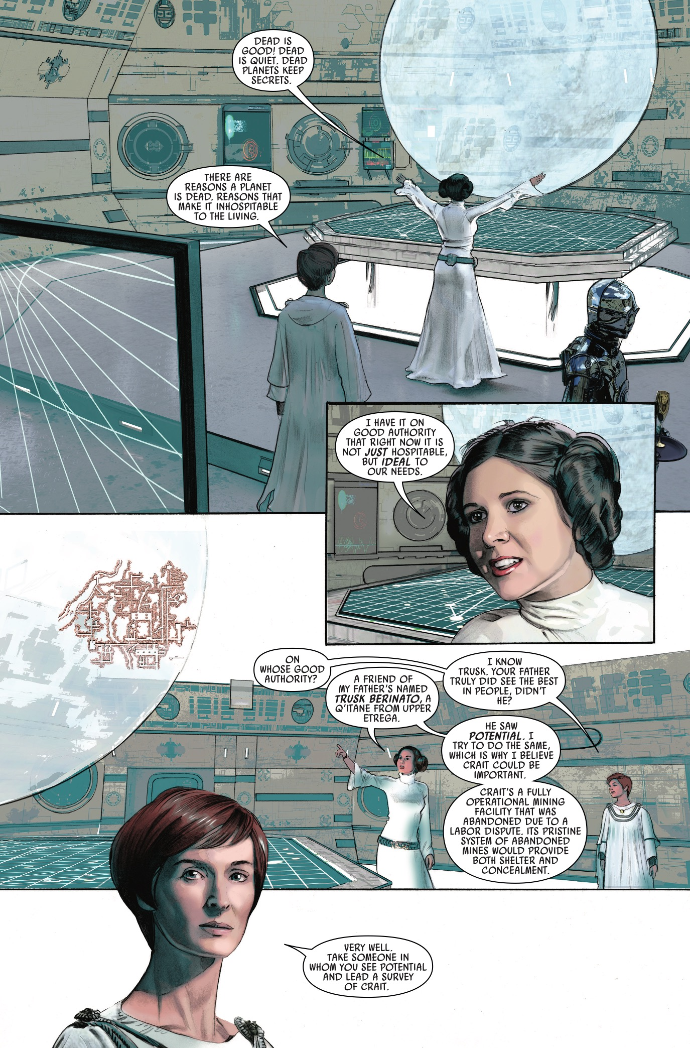 Star Wars: The Storms of Crait #1 Review