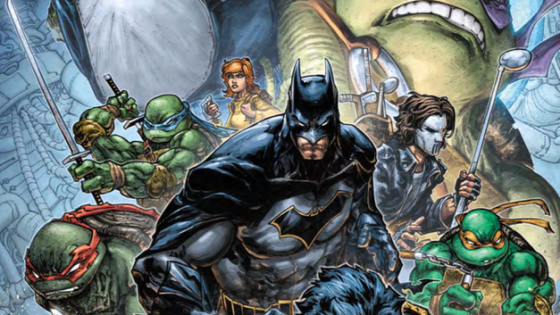 Batman and the TMNT crew team up again, this time against Bane!