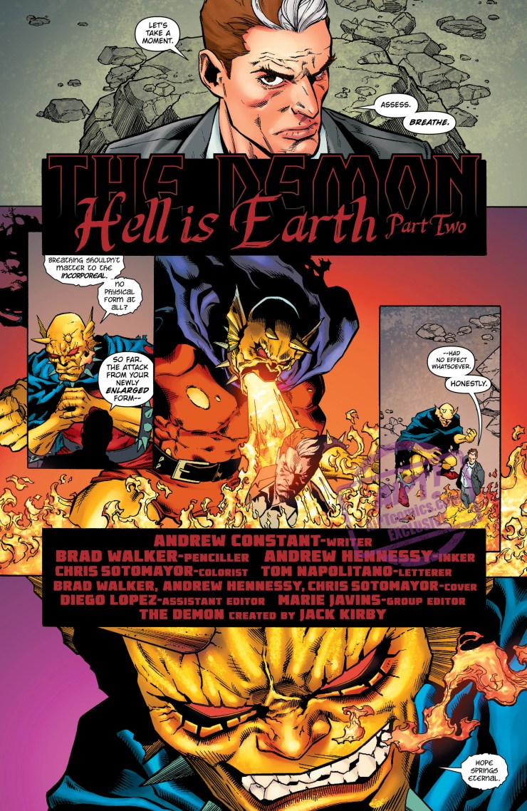 [EXCLUSIVE] DC Preview: The Demon: Hell Is Earth #2