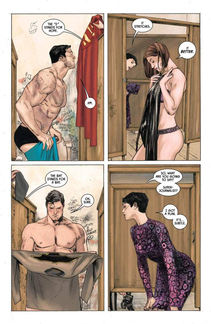 Batman #37 (2016) review: Fifth wheeling on a double date with Batman and Superman