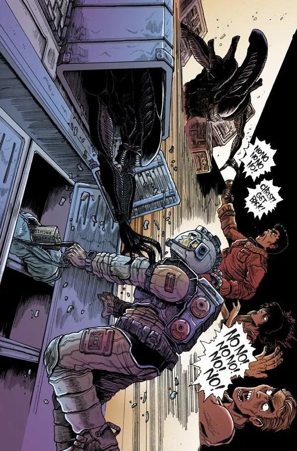 Aliens: Dead Orbit #4 Review