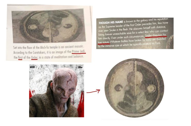 Star Wars: The Last Jedi: New images raise the question, 'Could Supreme Leader Snoke be the First Jedi?'