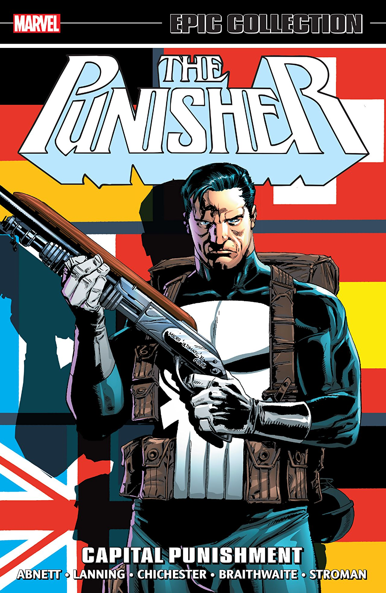 'Punisher Epic Collection: Capital Punishment' review: Not as silly as it gets, but close enough