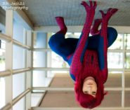 Mary Jane in Spideys suit, taken by Blk Jack Photography