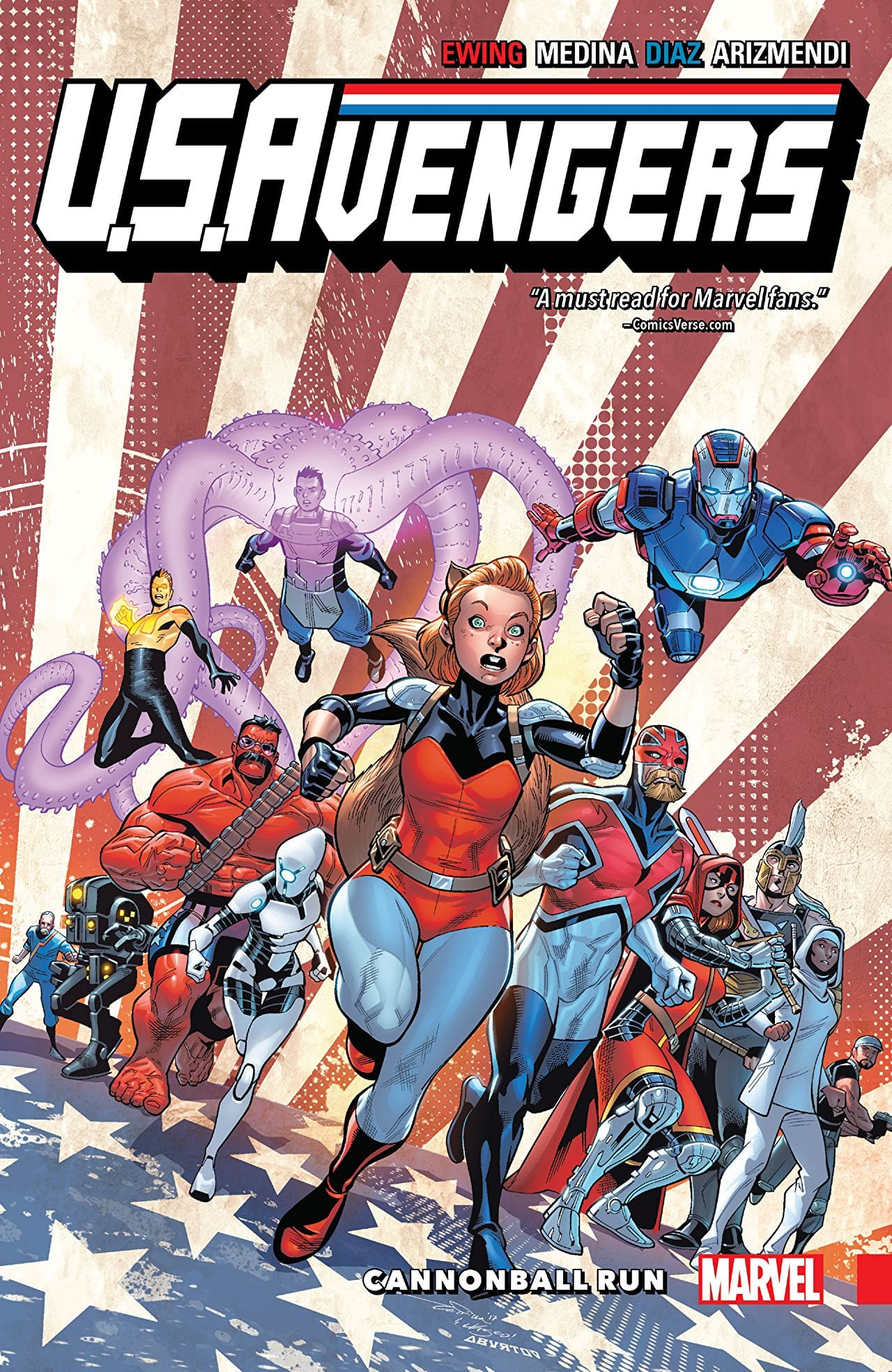'U.S.Avengers Vol. 2: Cannonball Run' is a fun, unpredictable read