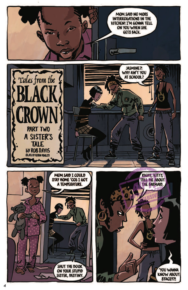 [EXCLUSIVE] IDW Preview: Black Crown Quarterly #2: Winter 2018
