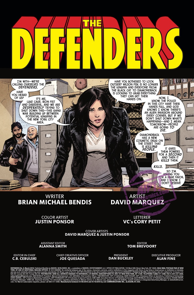 The Defenders #9 Review