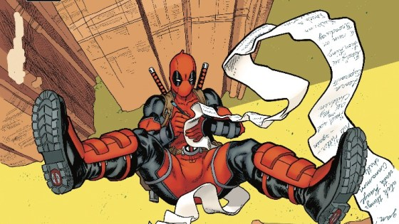 Deadpool has a lot of unfinished business in his inbox, and he's determined to take care of it before…any sort of bad and permanent-ish thing happens to him.