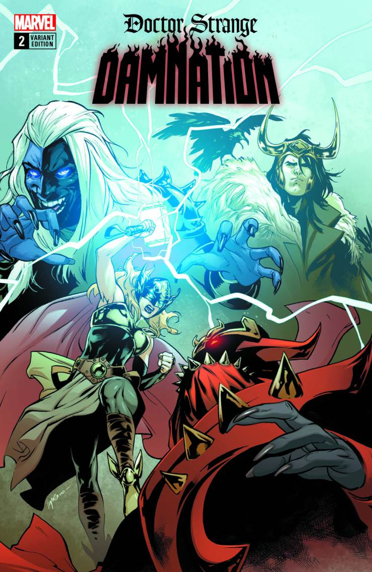 Never enough Thor covers proven true by Marvel's new variants on sale soon