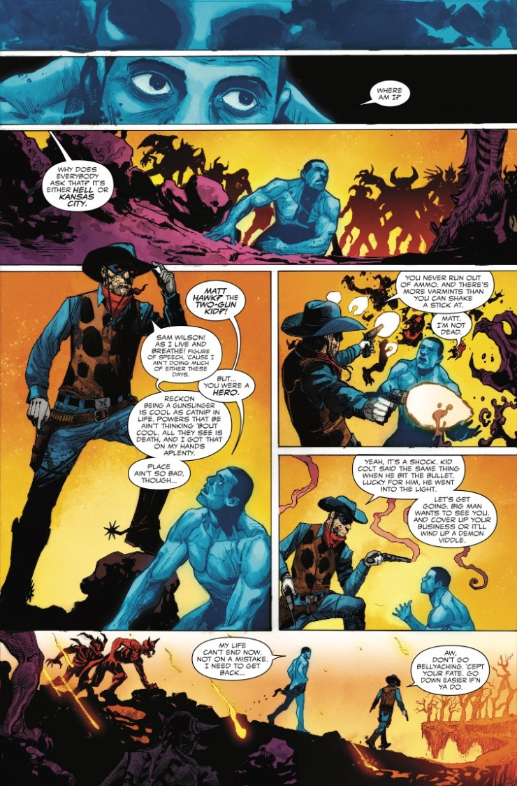 Marvel Preview: Falcon #4