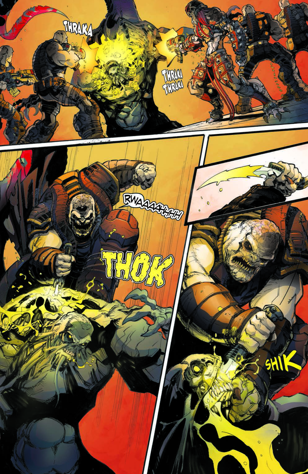 Gears of War: The Rise of RAAM #1 Review