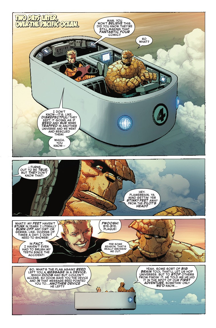 Marvel Two-In-One #2 Review