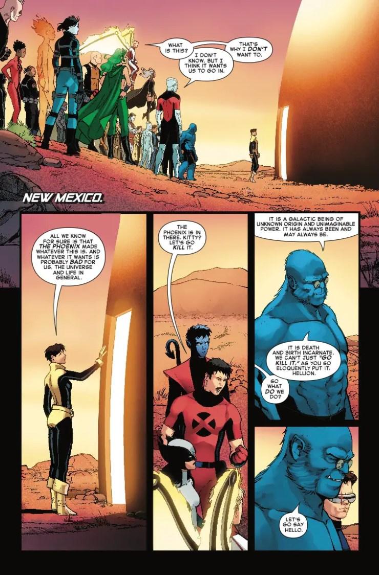 Marvel Preview: Phoenix Resurrection: The Return of Jean Grey #4