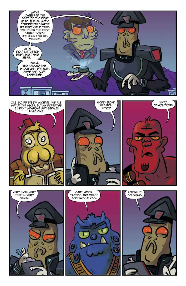 Oni Preview: Rick and Morty #34
